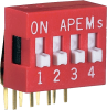 SPST Standard DIP Switches -- DA04