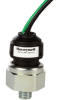 MH Series Medium Pressure Switch, rising set point (factory set), 10.15 psi sealed gage, 1/8-27 NPT port, SPST-NO output with gold-plated contacts, cold-rolled steel base, HNBR diaphragm, and 10-inch -- MHR01015PBPNNEAA