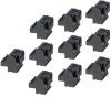 Terminal Blocks – 5 Position Spring Clamp (10 Pack) -- TB-SP05-10