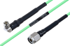 Temperature Conditioned SMA Male Right Angle to TNC Male Low Loss Cable 36 Inch Length Using PE-P160LL Coax -- PE3M0198-36 -Image