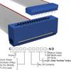 Rectangular Cable Assemblies -- C3PES-2606G-ND -Image