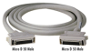 Micro D 50 to Micro D 50 Cables, 10-ft. (3.0-m) -- EVMSC01-0010-MF
