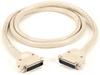 25-ft RS232 Unshielded Cable Plastic Hood DB25 M/M 25-Conductor -- ECM25T-0025-MM - Image