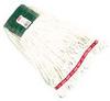 "Rubbermaid Web Foot® Shrinkless® Wet Mop Head - Medium - 5"" Headband -- RM-A252WHI"