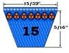 15280 Auto V-Belt