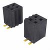 Rectangular Connectors - Headers, Receptacles, Female Sockets -- FLE-143-01-G-DV-P-ND -Image