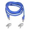 Belkin - Patch cable - RJ-45 (M) - RJ-45 (M) - 25 ft - UTP - -- A3L791TT25BLU-S