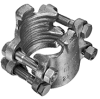 4 Bolt Type Hose Clamps