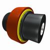 Close-coupled Wrap-fit Urethane Element Coupling -- A Series