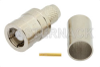 75 Ohm SMB Plug Connector Crimp/Solder Attachment for RG59, RG62, RG71 -- PE4472 -Image