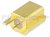 Mini SMP Male Smooth Bore PCB Connector End Launch Solder Attachment -- SC5413 -Image