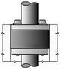 Conduit in Rigid/EMT Conduit Sealing Bushing -- CSMI-200P