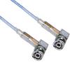 3-SLOT FULL CRIMP PLUG R/A TO R/A M17/176 TWINAX, 48 INCH CABLE LENGTH -- MP-2167-48 -Image