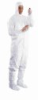 IC182BWHLG00250C - Tyvek cleanroom coveralls; large, 25/cs -- GO-33684-05 - Image