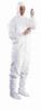 IC182BWHLG00250C - Tyvek cleanroom coveralls; large, 25/cs -- GO-33684-05 - Image