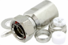 7/16 DIN Male Connector Clamp/Solder Attachment for RG17, RG218, RG219 -- PE44277 -Image
