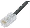 C5e UTP TPE High Flex Outdoor Industrial Ethernet Cable, RJ45 / RJ45, Black, 25.0 ft -- TRD855HFT-25 -Image