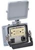 Size 32B Panel Interface Connector: (1) outlet, (1) RJ45 -- ZP-PGA-32-201