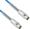 Plenum Cable Assembly TRB 3-Lug Cable Jack to Jack with Bend Reliefs MIL-STD-1553 .150