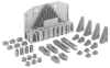 60 Piece Set-up Kit, Steel Step Block -- 45205 - Image