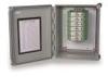 "Enclosure, 10"" x 8"" x 6"", NEMA-4X, for housing DIN rail mount modules includes 15 cord grips -- 682A00 -- View Larger Image"