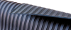 Black Wide-Ribbed Premium Rubber Matting -Image