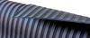 Black Wide-Ribbed Premium Rubber Matting -- View Larger Image