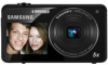 Samsung ST700 16.1mp 5x (4.7-23.5mm) Optical Zoom 3in Touchscreen DualView LCD Camera w/ 720p HD Video -- EC-ST700ZBPBUS