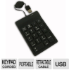 Adesso AKP-218 18 Key Waterproof Keypad - USB, Silicone Gel, -- AKP-218