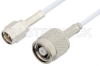 SMA Male to Reverse Polarity TNC Male Cable 60 Inch Length Using RG188 Coax, RoHS -- PE35244LF-60 -Image
