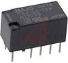 Relay;E-Mech;High Voltage;DPDT-NO/NC;Cur-Rtg 2A;Ctrl-V 12DC;Vol-Rtg 30DC;PCB Mnt -- 70158627