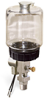 """(Formerly B1764-2X01), Single Feed Electro Lubricator, 1 pt Polycarbonate Reservoir, 3/8"""" Male NPT, 120V/60Hz -- B1763-0161B1S31206W -- View Larger Image"""
