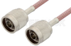 N Male to N Male Cable 60 Inch Length Using RG142 Coax -- PE3455-60 -Image