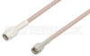 SMA Male to SSMA Male Cable 60 Inch Length Using RG316-DS Coax -- PE37401-60 -Image