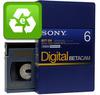 Evaluated Digital Betacam 6 Minutes Small Cassette