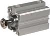 Aluminum Single Acting Spring Return Cylinder -- 8041394