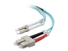 30 mts OM3 LC to SC optical fiber cable -- F2F402L7-30M-G