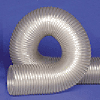 UFD.020 Clear Thermo Polyurethane Flexible Duct -- 48667