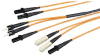 MT-RJ Fiber Cable, Duplex, Plenum, Custom Lengths -- EFP080