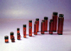 Amber Screw Thread Vials - F-217 Lined Polypropylene Caps  Amber Screw Thread Vials -1 Dr PP Lined Caps -- 1246250 - Image