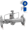 Dual Beam Ultrasonic Flow Meter -- UFM 530 HT