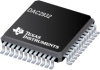 DAC2932 Ultra-Low Pwr 29mW, 12-Bit, Dual 40 MSPS D/A w/4 Additional Ctrl DAC for Transmit/Rec Path Control -- DAC2932PFBRG4 -Image