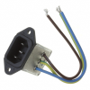Power Entry Connectors - Inlets, Outlets, Modules -- CCM1210-ND -Image