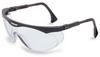 Honeywell Skyper Polycarbonate Standard Safety Glasses - Black Frame - Wrap Around Frame - 603390-075353 -- 603390-075353