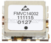 VCO (Voltage Controlled Oscillator) 0.5 inch SMT (Surface Mount), Frequency of 1.57 GHz to 1.85 GHz, Phase Noise -101 dBc/Hz -- FMVC14002