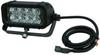LED Light Emitter on Trunnion Wall Mount - 8, 3-Watt LEDs - 24 Watt - 1440 Lumen - 325'L X 70'W Beam -- LEDLB-8ET