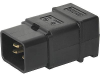 IEC Plug I, Cord Connector (Rewireable), Straight -- 0922 -Image