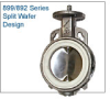 Split Wafer Design Valve -- 899/892 Series