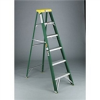 Folding Two-Step Step Stool -- RCP 4209 CYL