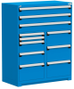 R Stationary Cabinet (Multi-Drawers), with Compartments, 11 drawers (48